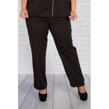 b5cb79a6acc Черен елегантен панталон Малина  SIRENA plus