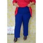Летен стегнат панталон с широк крачол