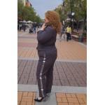 Сако от еластична материя | SIRENA plus модерна макси мода