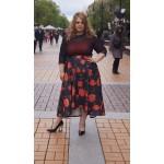 Пола с 3D ефект | SIRENA plus модерна макси мода