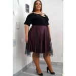 Къса официална рокля в нежно лилаво ЛИНА