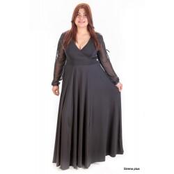 Официална дълга рокля рокля TINA   SIRENA plus онлайн магазин за модерна макси мода