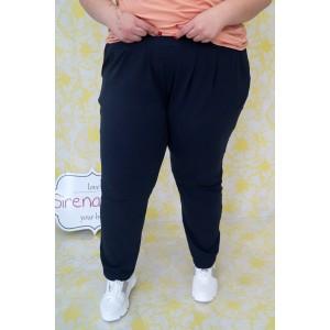 Макси спортен панталон тип потур в тъмно синьо