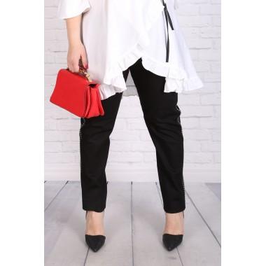 Клин-панталон с метален кант | Онлайн магазин за модерна макси мода