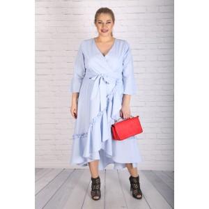 """Светло синя шеметна рокля """"КАЯ"""""""