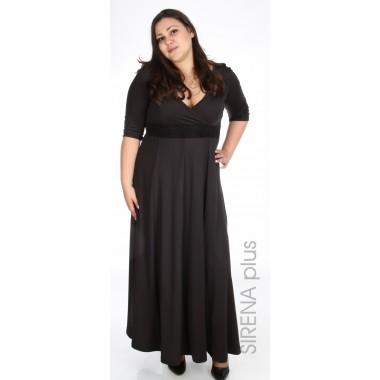 Дълга черна рокля | Онлайн магазин за модерна макси мода