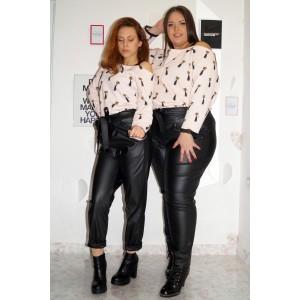 СЕТ Туника с котки и дълбок панталон