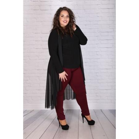 Официална туника с наметка| Онлайн магазин за модерна макси мода