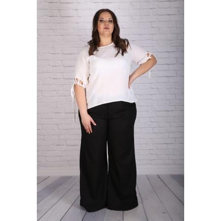 """Черен летен панталон тип """"Чарлстон""""   Онлайн магазин за модерна макси мода"""