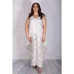 Лятна рокля от лен