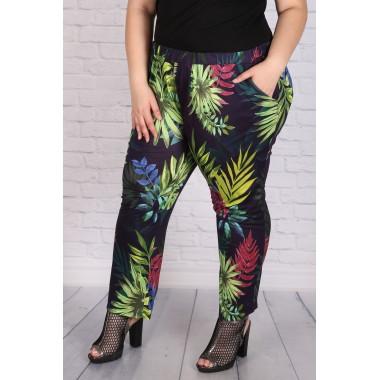 Панталон с флорален десен  |SIRENA plus онлайн магазин