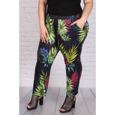 Панталон с флорален десен