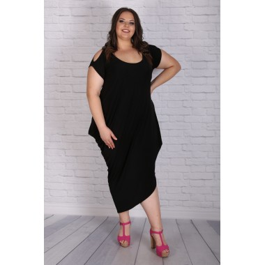 fb988d5a4d0 Eжедневна черна рокля | Онлайн магазин за модерна макси мода