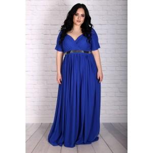 Синя кралска рокля