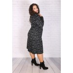 """Елегантна плетена офис рокля """"АМБЪР""""   Онлайн магазин за модерна макси мода"""