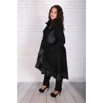 Разкошно вълнено палто с кожа | Онлайн магазин за модерна макси мода