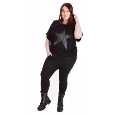 Ефектна блуза с реглан ръкав The Billion Girl | SIRENA plus модерна макси мода