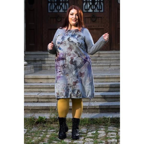 Къса рокля   I love all eyes on me Floral   | SIRENA plus онлайн магазин
