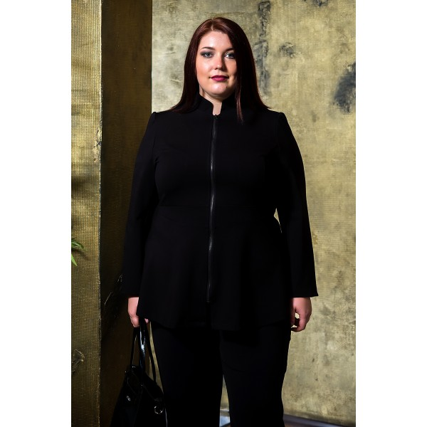 Късо сако с цип     SIRENA plus онлайн магазин