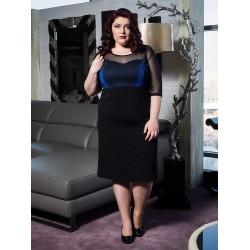 Права рокля MIRA с ламе | Онлайн магазин за модерна макси мода SIRENA plus