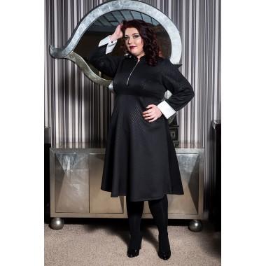 Рокля Steffi с маншети | Онлайн магазин за модерна макси мода SIRENA plus