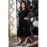 Рокля ROSE с тюл | Онлайн магазин за модерна макси мода SIRENA plus