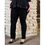 Ластични дънки без закопчаване с парти акцент | SIRENA plus онлайн магазин