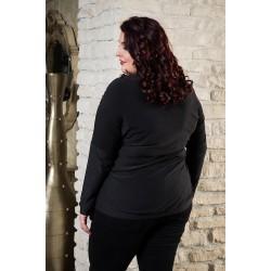 Блуза с ламе от тънко плетиво | SIRENA plus онлайн магазин
