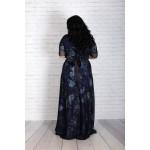 """Тъмно синя официална рокля """"Теменуга"""""""