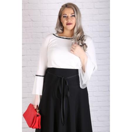 Блуза с волани на ръкавите | Онлайн магазин за модерна макси мода