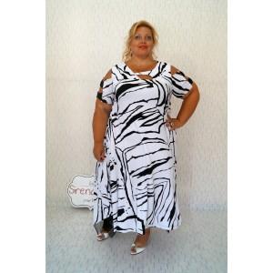 "Лятна рокля с мрежа ""Зебра"""