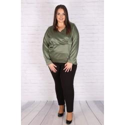 Макси сатенена риза-туника | Онлайн магазин за модерна макси мода