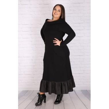"""Макси спортна рокля с отворени рамене 320 """"МОНИ""""   Онлайн магазин за модерна макси мода"""