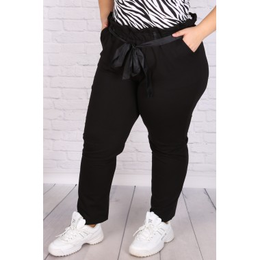 Макси панталон с висока талия и коланче | SIRENA plus онлайн магазин