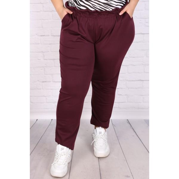 Макси панталон с висока талия и гайки за колан   SIRENA plus онлайн магазин
