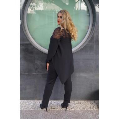 "Асиметрична туника-риза ""Мона"" | SIRENA plus модерна макси мода"