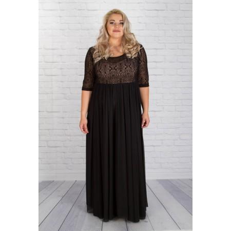 """Официална дълга рокля """"НИКОЛ""""    Онлайн магазин за модерна макси мода"""