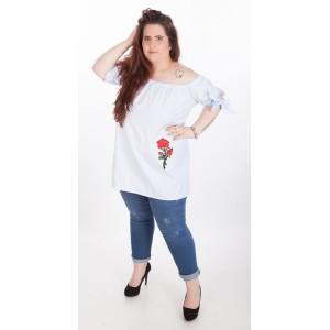 Риза-туника с цвете
