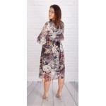 Рокля-туника с кожен колан и хастар | SIRENA plus модерна макси мода