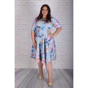 Свежа светлосиня рокля | Онлайн магазин за модерна макси мода